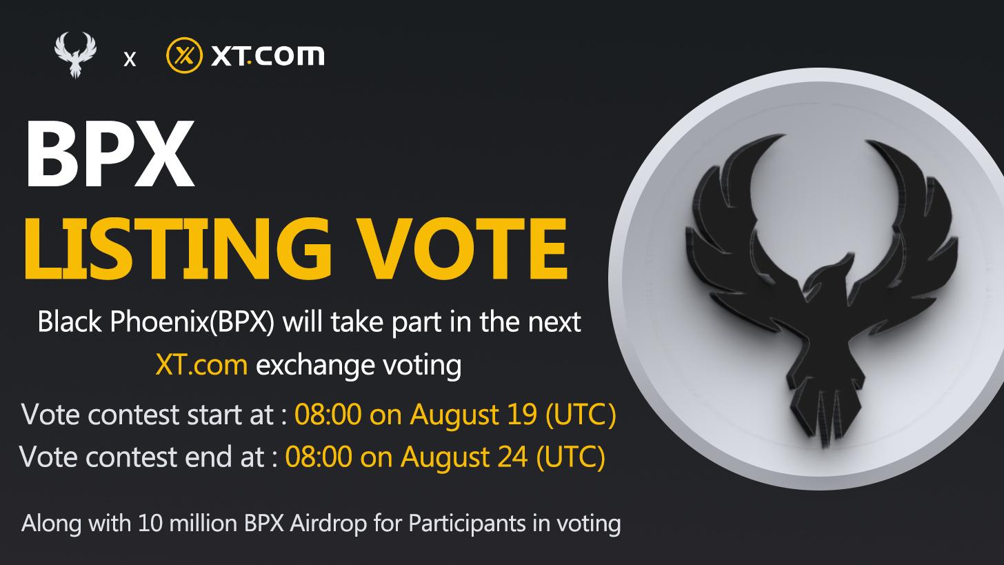 Black Phoenix (BPX) listing vote